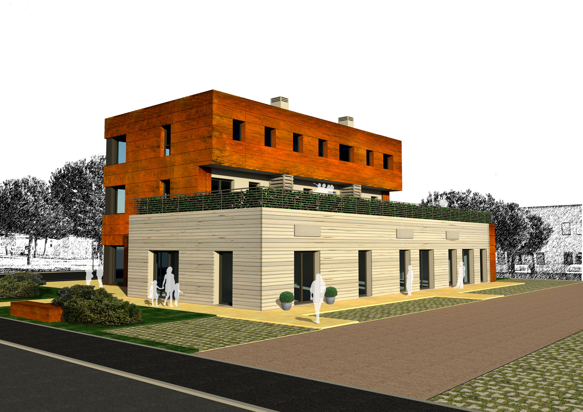 Edificio di nuova costruzione Pieve al Toppo KORTEN